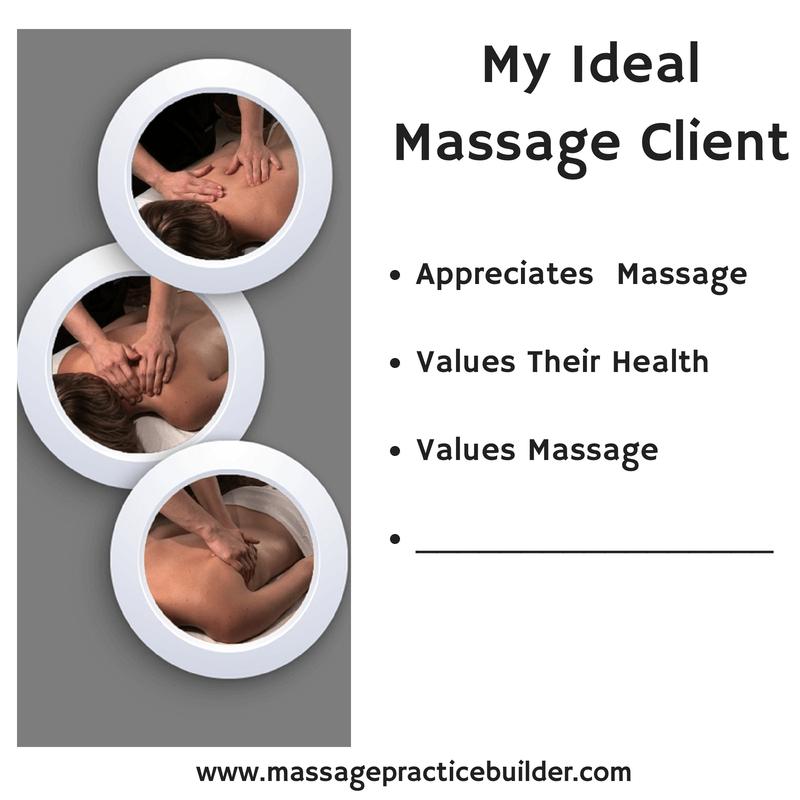 The Ideal Massage Client