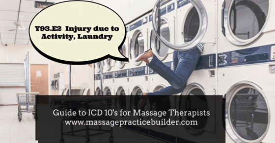 ICD10 for massage therapists