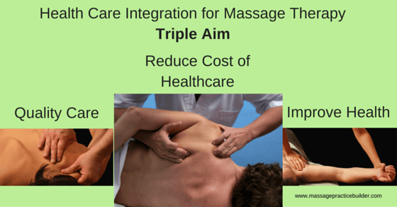 health care integration for massage therapy