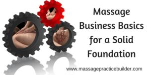 Massage Business Basics