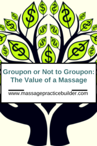 groupon for massage therapists