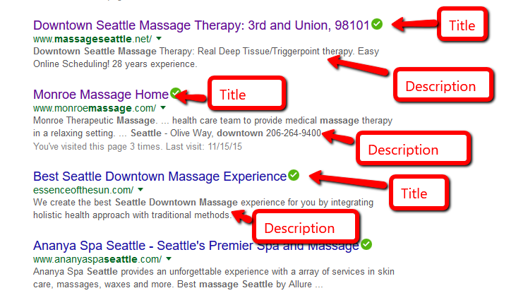 Simple Search Engine Optimization ( SEO) for massage therapy
